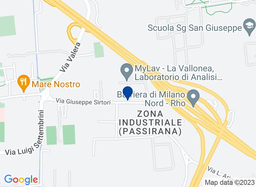 Fabbricato industriale, RHO