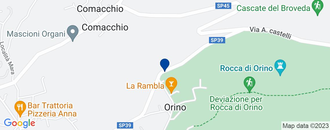 Terreno, ORINO
