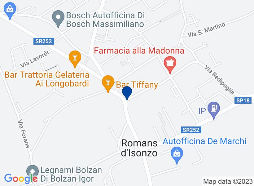 Albergo, ROMANS D'ISONZO