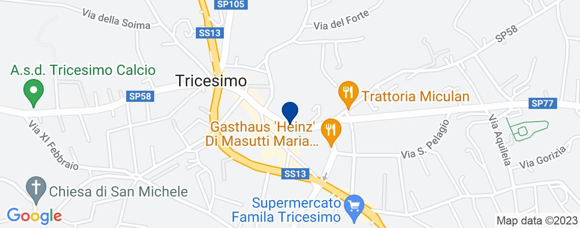 Villa, TRICESIMO