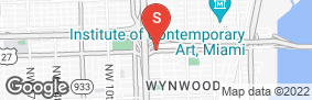 Location of Safeguard Self Storage - Miami Design District in google street view