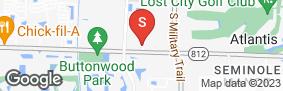Location of Burlington Self Storage Of Lake Worth in google street view
