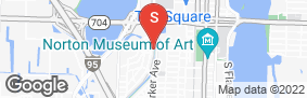 Location of Storage Rentals Of America in google street view