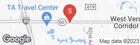 Location of Attic 60 Self Storage in google street view