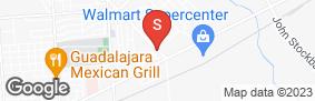 Location of Alamo Mini-Storage - S. Sam Houston in google street view