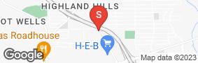 Location of Lockaway Storage - Southcross in google street view