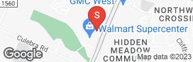 Location of Lockaway Storage - 1604 in google street view