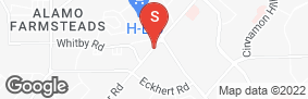 Location of Lockaway Storage - Huebner in google street view