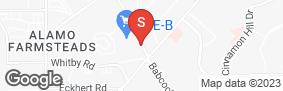 Location of Lockaway Storage - Babcock in google street view