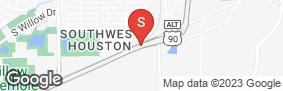 Location of Houston Mini Storage #3 in google street view