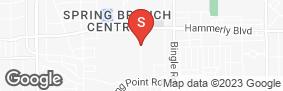 Location of Houston Mini Storage in google street view