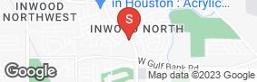 Location of Inwood Storage in google street view