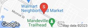 Location of Mandeville Self Storage in google street view