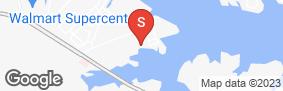 Location of Lockaway Storage - Lake Conroe in google street view