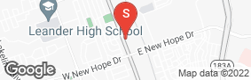 Location of A3 Storage Centers Cedar Park in google street view