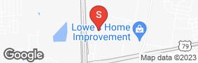 Location of Alamo Mini Storage - Hutto in google street view