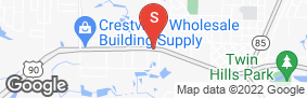 Location of A-1 Crestview Mini Storage in google street view