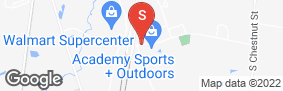 Location of Aaa Self Storage - South Colony in google street view