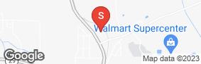 Location of Bass Mini Storage in google street view