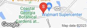 Location of Plantation Self Storage - Savannah in google street view