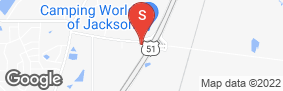 Location of Magnolia Mini Storage in google street view