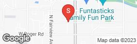 Location of American Self Storage - Tucson in google street view