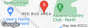 Location of Abilene South 41st Self Storage in google street view