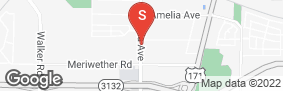 Location of Amazing Space Storage - Shreveport in google street view