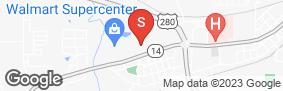 Location of Iron Guard Storage - Opelika in google street view
