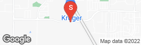Location of All Storage - Arlington Sublett in google street view