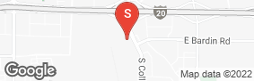 Location of South Collins Self Storage in google street view