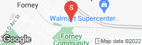 Location of Forney Storage in google street view