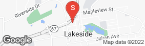 Location of Superstorage-Lakeside in google street view
