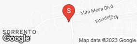 Location of Mira Mesa Self Storage in google street view