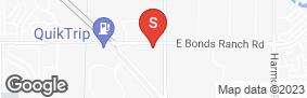Location of All Storage - Bonds Ranch @ 156/Blue Mound in google street view