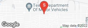 Location of All Storage - Carrollton @Belt Line in google street view