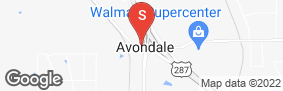 Location of All Storage - Business 287 @Avondale Haslet in google street view