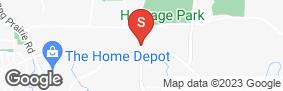 Location of Advantage Storage - Flower Mound in google street view
