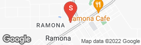 Location of Ramona Self Storage in google street view