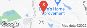 Location of Eagle Self Storage in google street view