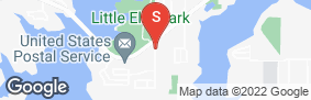 Location of Little Elm Self Storage in google street view