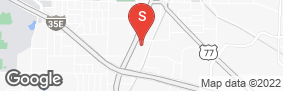 Location of Macho Self Storage Denton in google street view