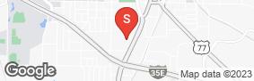 Location of Iron Guard Storage - Denton in google street view