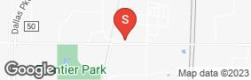 Location of All Storage - Prosper South (Prosper Trail @ Cook) in google street view