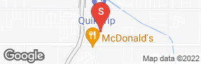 Location of Central Self Storage in google street view