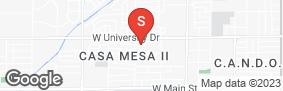 Location of American Self-Storage University in google street view