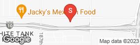 Location of Arizona Storage Center in google street view