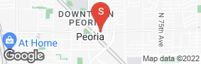 Location of Peoria Grand Storage Solutions in google street view