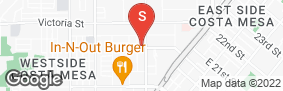Location of West Coast Self-Storage Costa Mesa in google street view