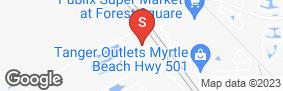 Location of Storage Rentals Of America Myrtle Beach # 45 in google street view